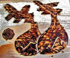pirografiado higos